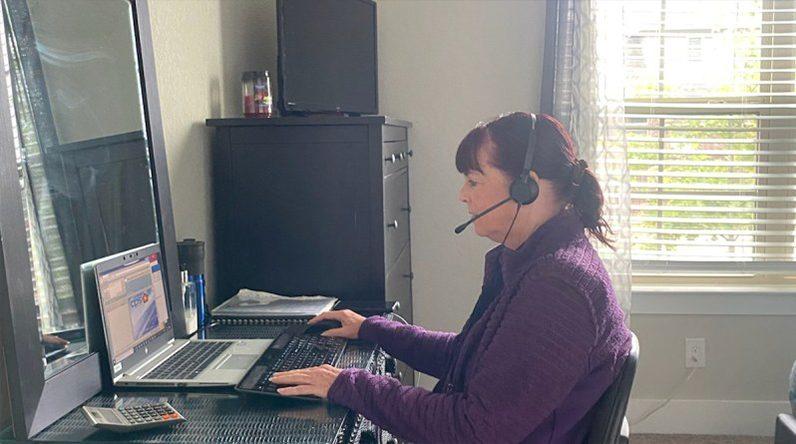 Lorri Williams, CPS Energy Advisor is working remotely