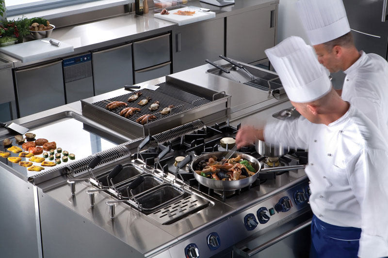 professional kitchen appliances rolling island cart ikea tasting the difference with