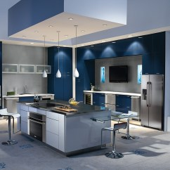 Lg Kitchen Suite Laminate Ideas Electrolux Partners With Designer Elaine Griffin To Dish ...