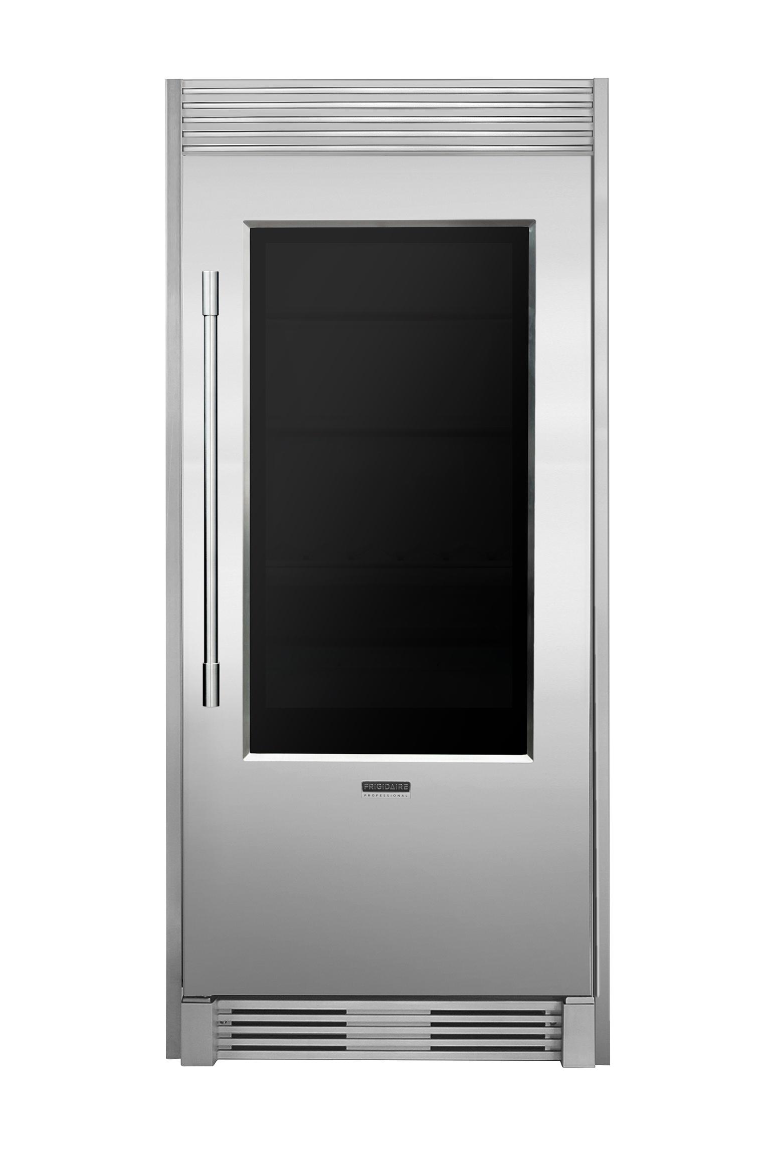 kitchen appliances brands redo countertops frigidaire professional® unveils first glass door ...