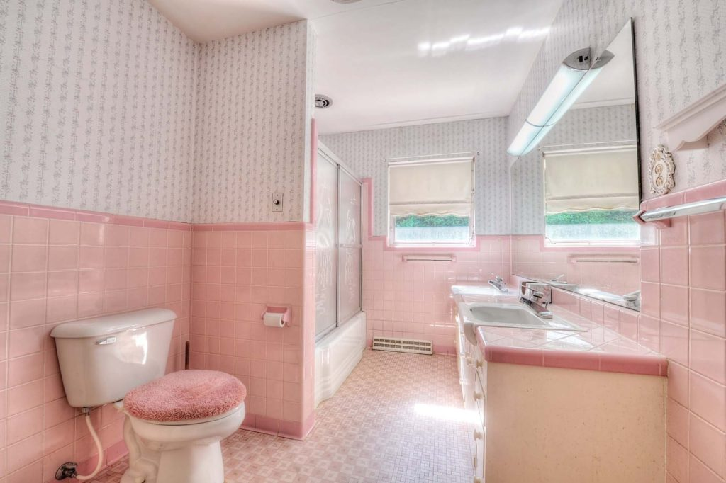 a look at how bathrooms have changed in