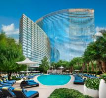 Resort Pool Aria And Casino