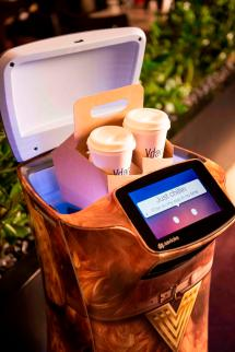 Robot Butlers Recharge Guest Experience Vdara Hotel