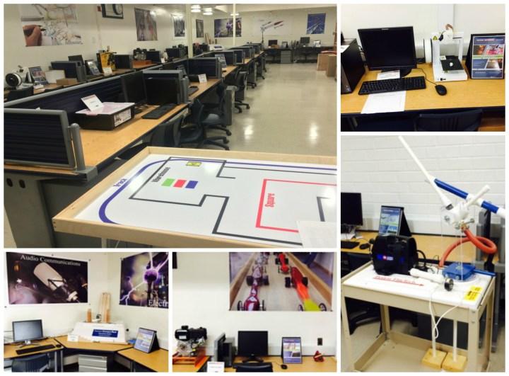 STEM Lab collage