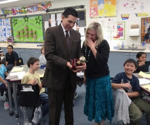 2016 Orange County Teacher of the Year Natalie Carias