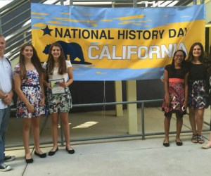 Student participants in National History Day