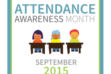 Attendance Awareness Month badge