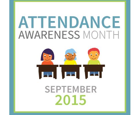 Attendance Awareness Month badge