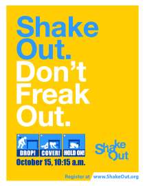 ShakeOut 2015 poster