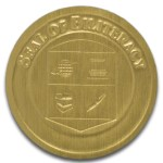 biliteral gold seal