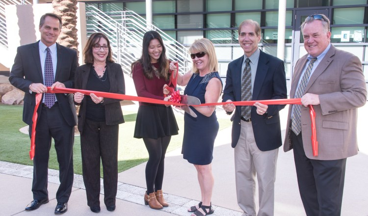Beckman Humanities Building Ribbon-Cutting Ceremony #1 - November 2015