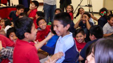 Thorman Elementary School students surprised