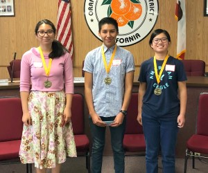 Spanish Spelling Bee winners