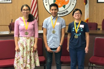 Spanish Spelling Bee winners