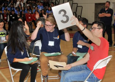 Students at the Orange County Academic Decathlon
