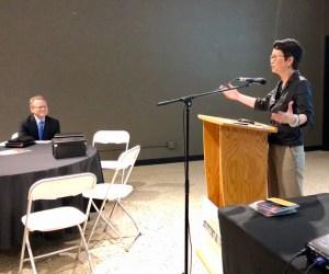 Van Ton-Quinlivan delivers a presentation