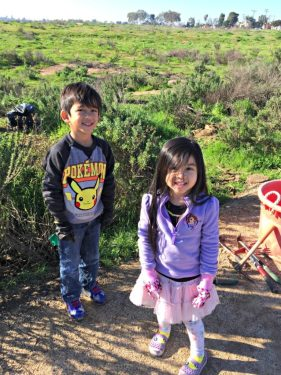 Children from Irvine