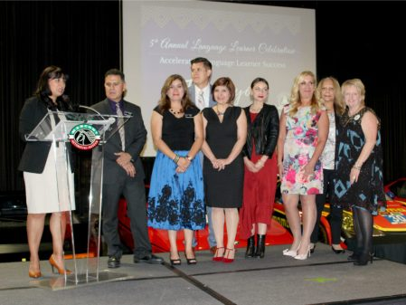 Attendees take the state at the fifth annual Language Learner Celebration on May 11