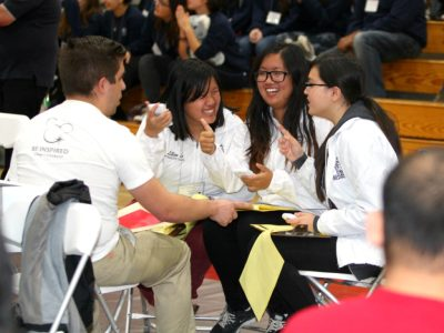 Students at the 2017 Orange County Academic Decathlon