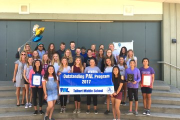 PAL students from Talbert Middle School