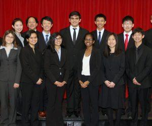 Woodbridge High School's Academic Decathlon team