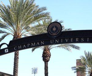 Chapman University signage