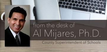 An image of Orange County Superintendent Al Mijares