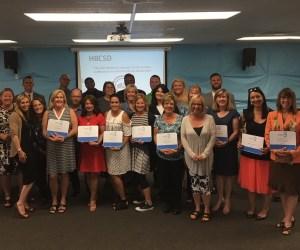 Educators from the Huntington Beach City School District