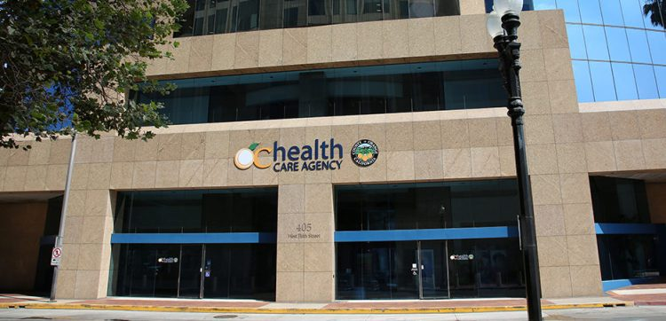 OC Health Care Agency building front