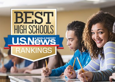 U.S. News Best High Schools logo