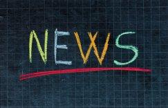 news written on chalkboard
