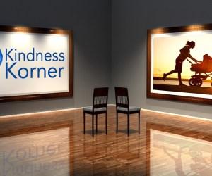 kindness korner, stroller