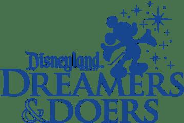 The Disneyland Resort Dreamers & Doers logo