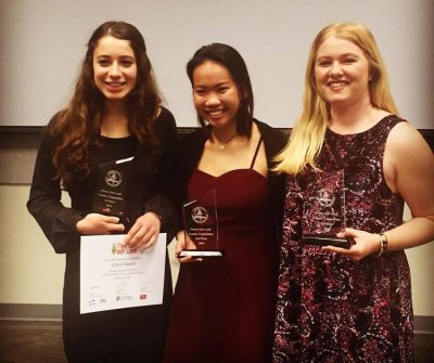 Winners of last year's Poetry Out Loud competitions