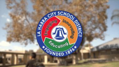 La Habra City School District logo