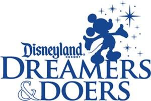 Disneyland Resort's Dreamers & Doers logo