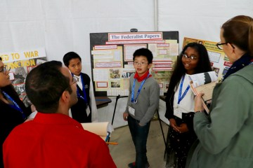 Students showcase their National History Day project