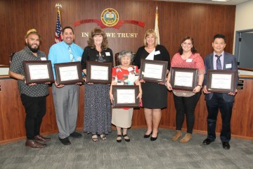 The 2018 Classified School Employees of the Year