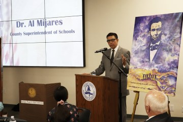County Superintendent Al Mijares