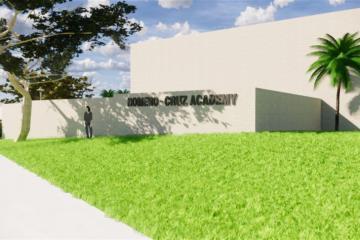 School campus rendering