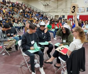 Students compete in academic challenge