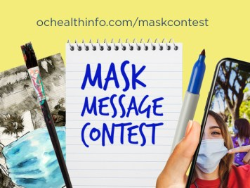 Mask Message Contest graphic