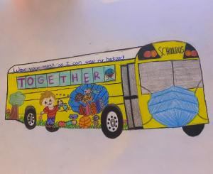 SAUSD Bus contest winner