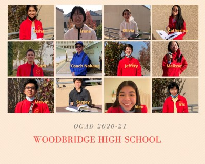 Collage of students and coaches
