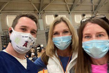 Three school nurses