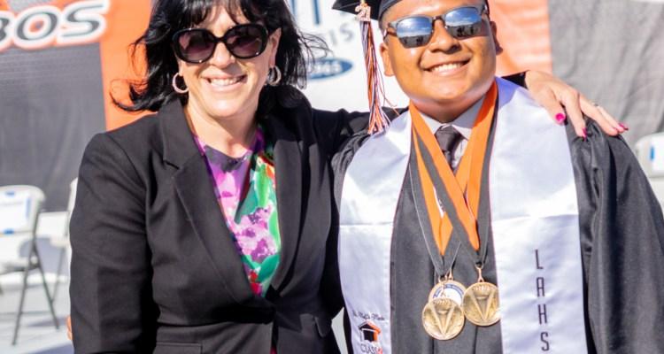 Superintendent Mafi and Sebastian Lozano