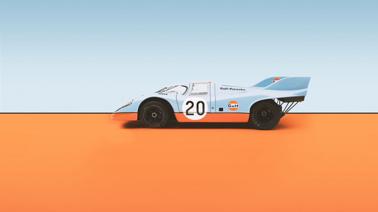 Porsche and their iconic liveries steeped in racing history