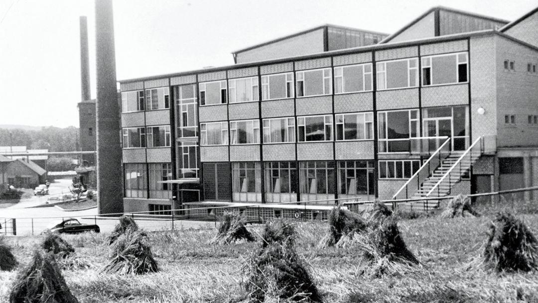 Werk Zuffenhausen, 1953, Porsche AG