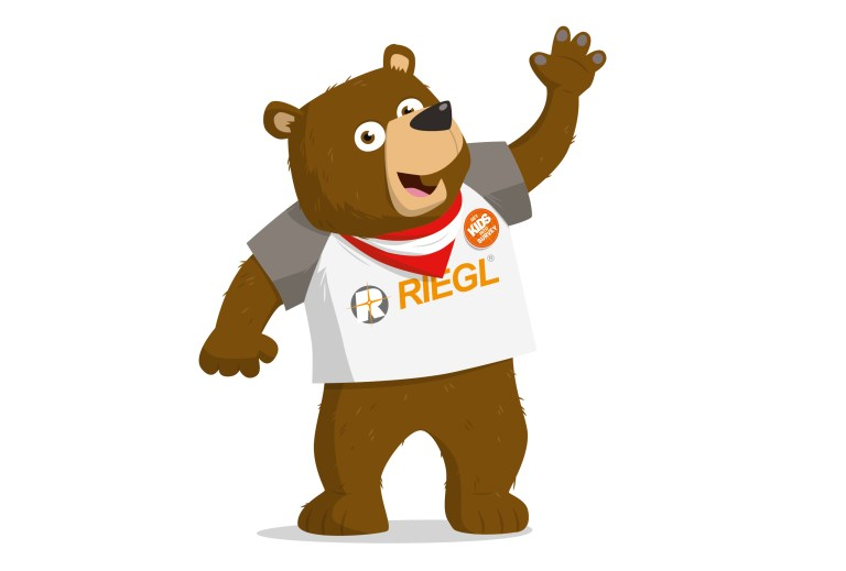 Meet Bernhard the RIEGL Bear!