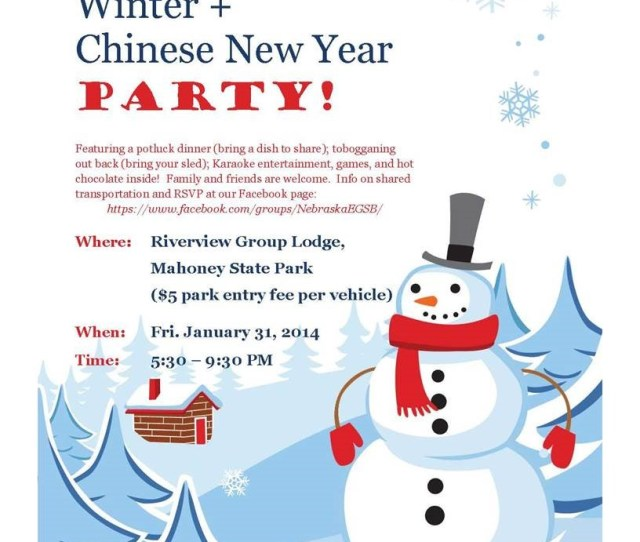 Coe Grad Students Winter Chinese New Year Party Is Jan 31